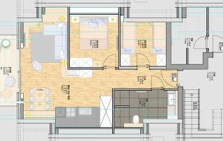 Grundriss - Wohnung LUV