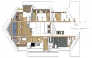Draufsicht - Wohnung LUV